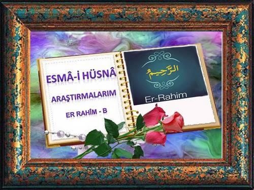 Rahîm - B